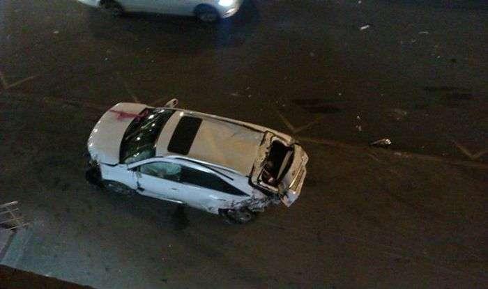 Серйозна аварія з вини малолітки за кермом Cadillac Escalade (5 фото + відео)