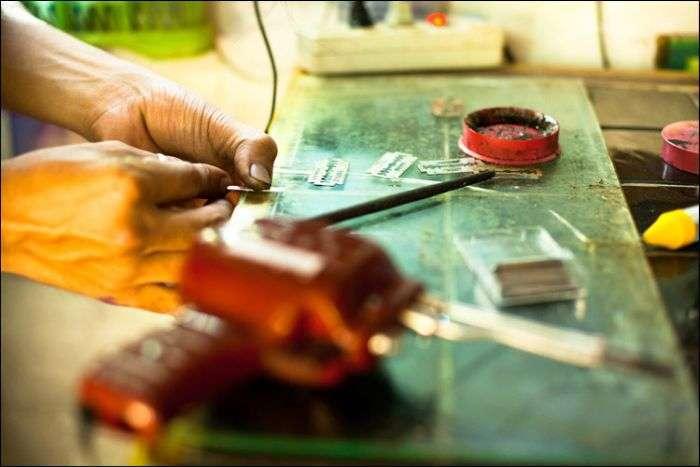 Як роблять татуювання bamboo в Таїланді (10 фото)