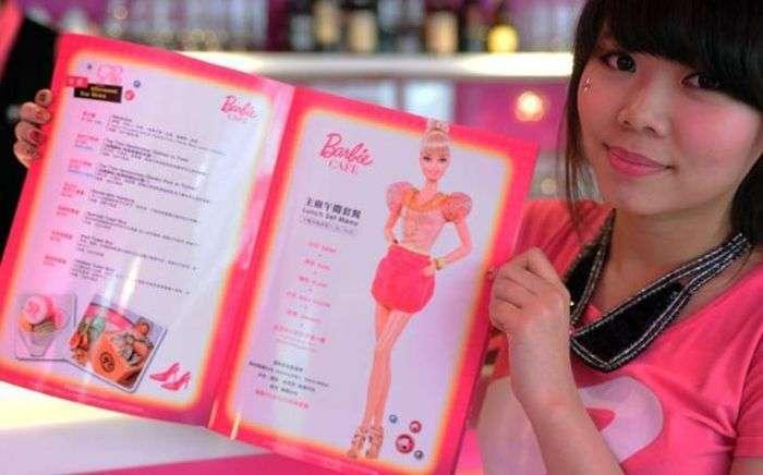 Ресторан для любителів ляльки Барбі (24 фото)
