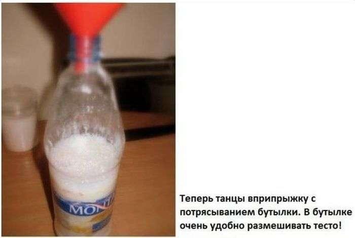 Як приготувати млинці, не забруднивши при цьому посуду (4 фото)