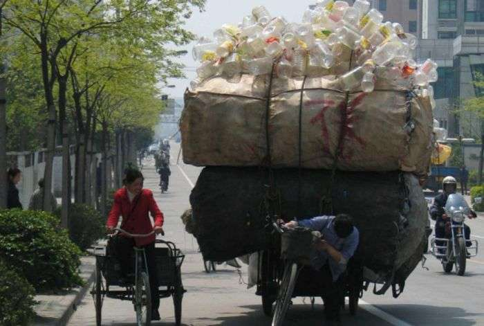 Дуже дивні вантажоперевезення в Китаї (26 фото)