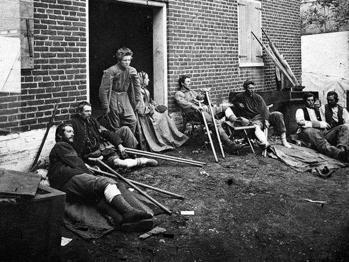 Громадянська війна у США у фотографіях (121 фото)