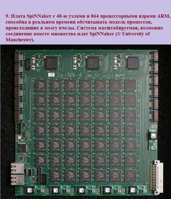 Компютер-симулятор людського мозку (12 фото)