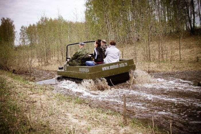 Всюдихід Ведмідь - відмінне рішення для полювання та риболовлі (31 фото)