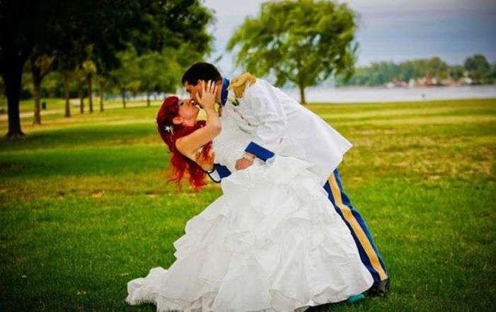 Тематична весілля в стилі Диснеївського мультфільму (21 фото)
