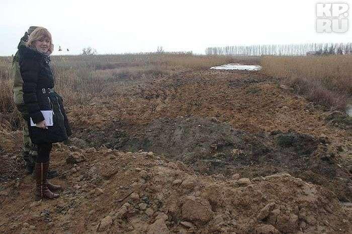 100 млн рублів закопали у дорогу до турбази зятя екс-міністра оборони (3 фото + текст)