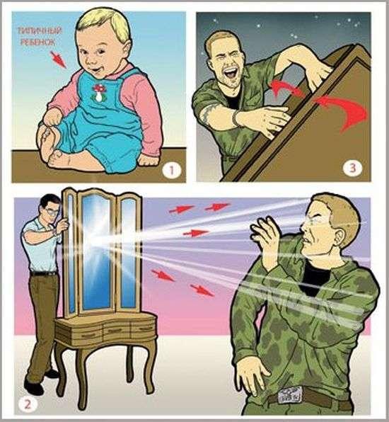 Як відбитися від хуліганів за допомогою підручних предметів (8 картинок)