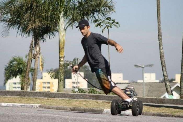 Моторизований скейт (17 фото)