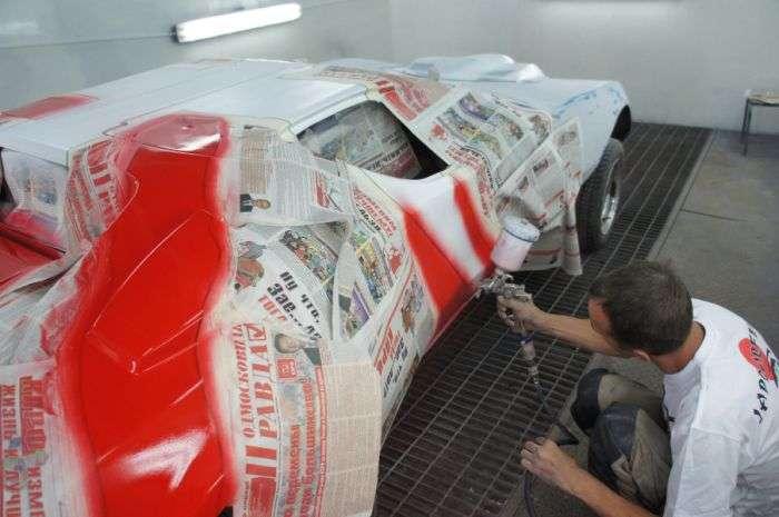 Як професіонали відновили спортивний автомобіль Eagle SS (18 фото)