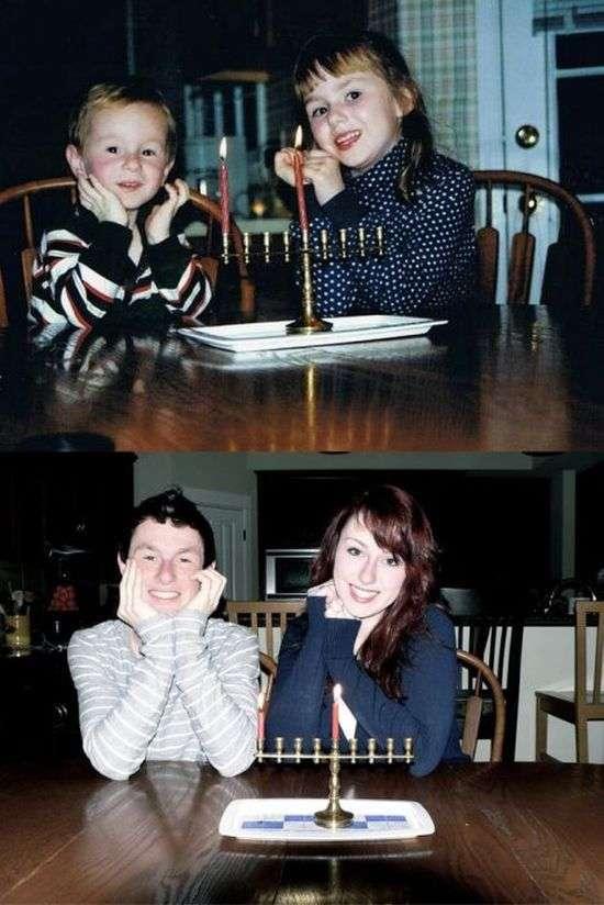 У дитинстві і зараз. Частина 7 (32 фото)