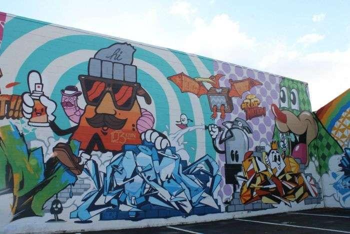 Виставка стріт-арту на Гаваях (48 фото)