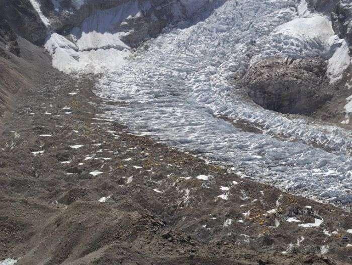2-гигапиксельный знімок відступаючого льодовика в Гімалаях (9 фото)