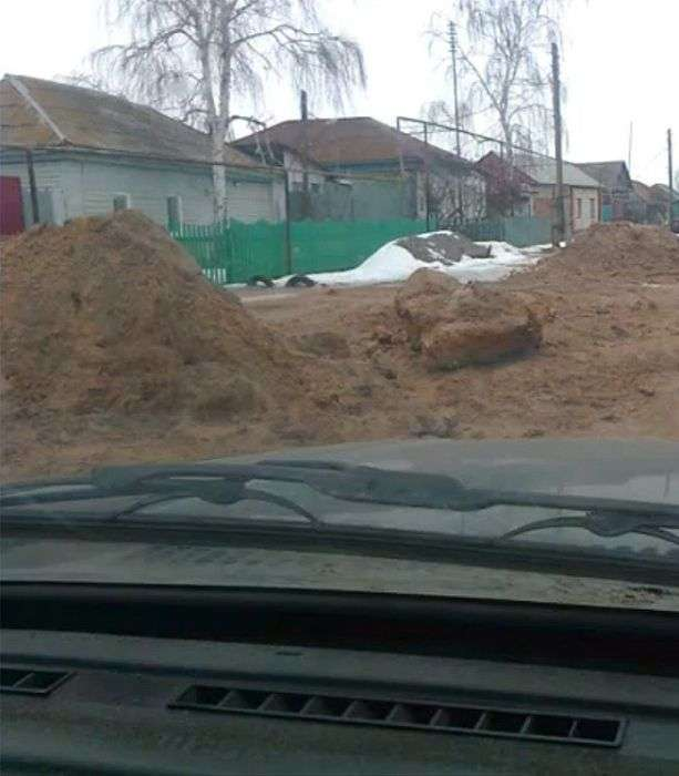 Дитячий садок на людських останках (19 фото)
