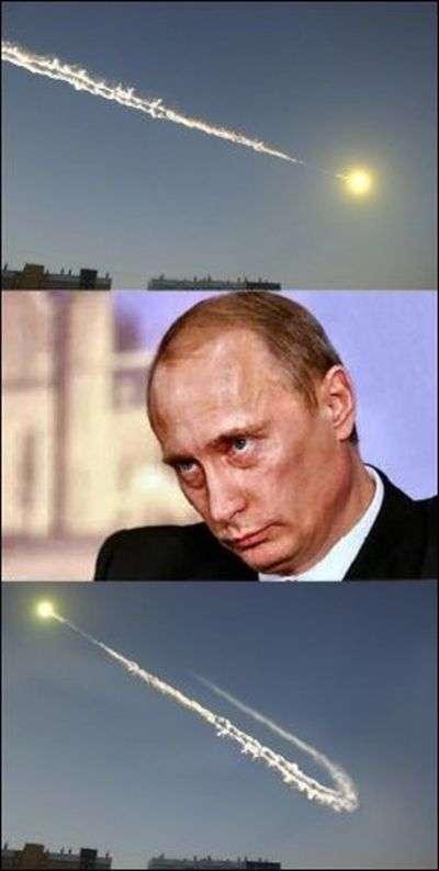 Метеорит доставлений та інші приколи про катаклізм (54 фото)