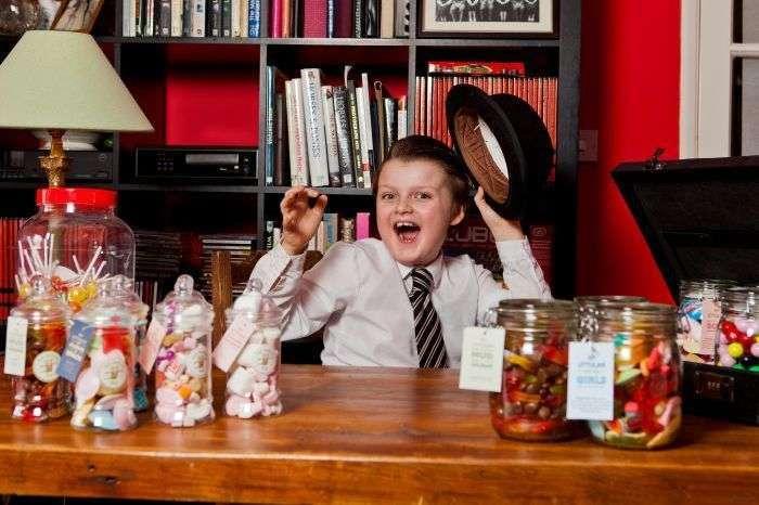 Самий маленький підприємець Великобританії (5 фото)