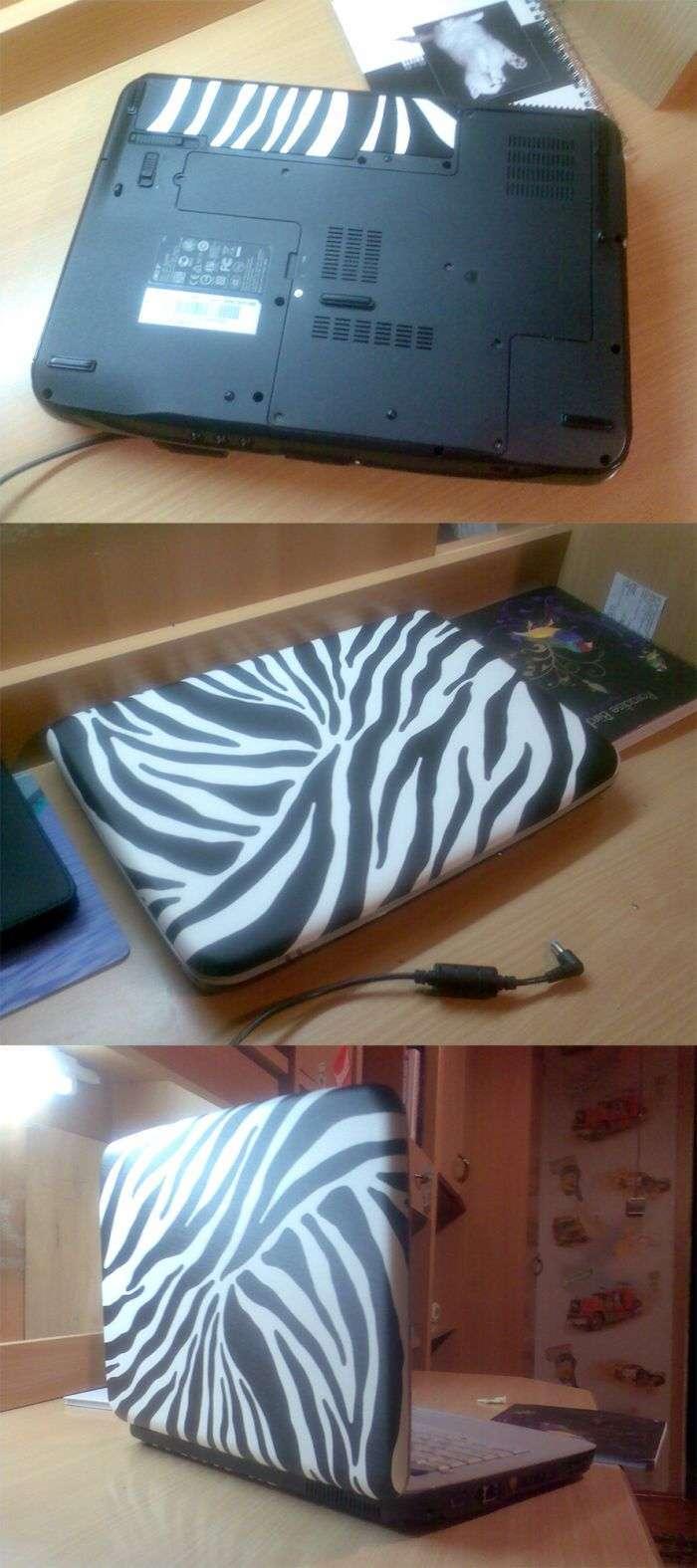 Як модифікувати старий столик і ноутбук? (10 фото)
