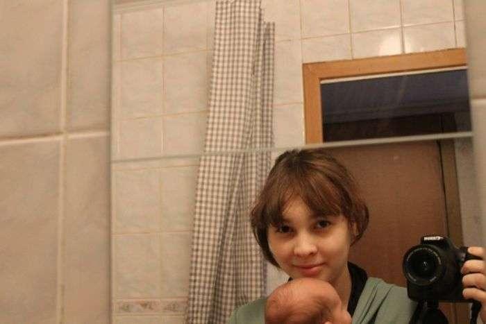 Один день з життя молодої мами (39 фото)