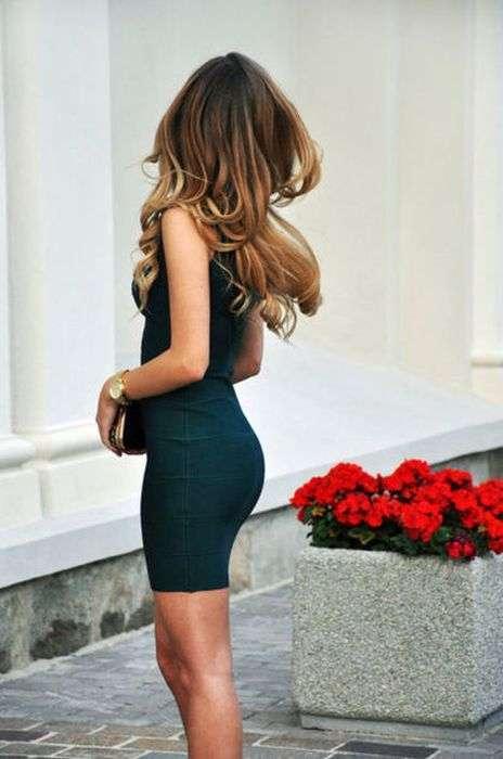 Сексапільні дівчата в красивих сукнях (52 фото)