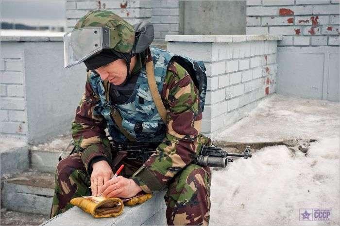 Як тренується московський ОМОН (67 фото)