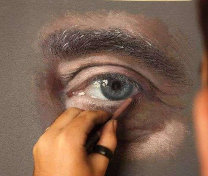 Неймовірно реалістичні професійні малюнки (17 фото)