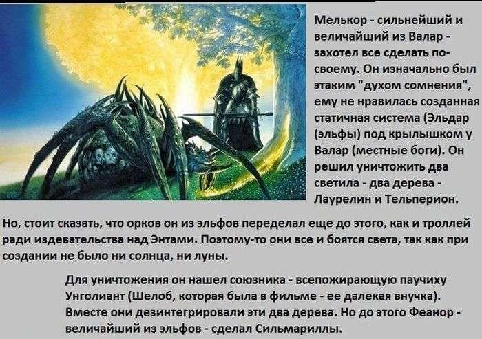 Світ фентезі з твору Володар кілець (10 картинок)