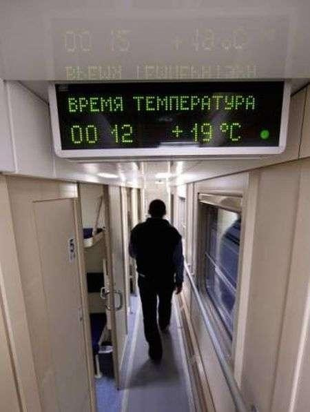 Перші двоповерхові вагони в Мурманської області (4 фото)