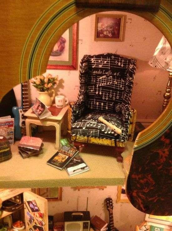 Незвичайна кімната, як подарунок для своєї дочки (3 фото)