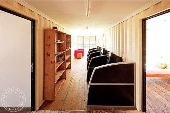 Дитячий будинок з контейнерів (38 фото)