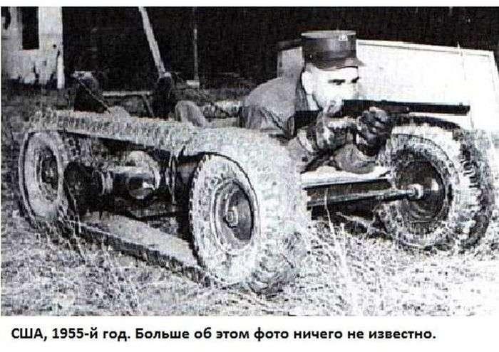 Архівні знімки прототипів танків (25 фото)