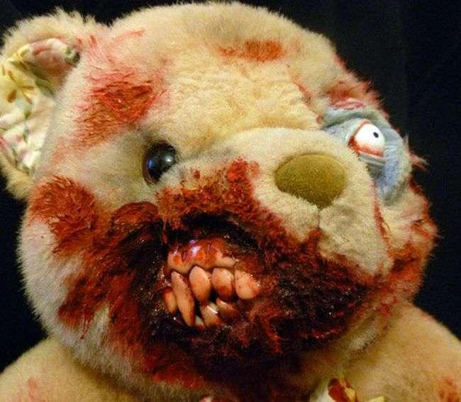 Недитячі плюшеві ведмеді (17 фото)
