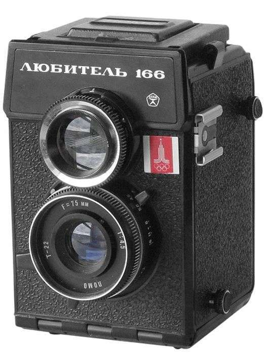 Фотоапарати радянських часів (22 фото)