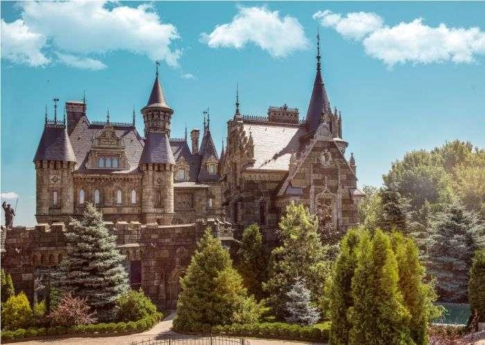Замок Гарібальді в селі Хрящевка (10 фото)