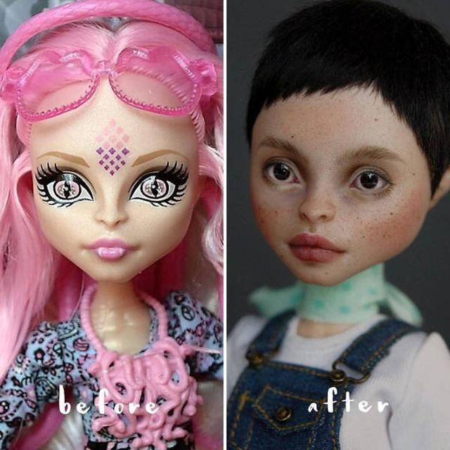 Украинская художница Ольга Каменецкая, «оживляющая» старые куклы. МиР