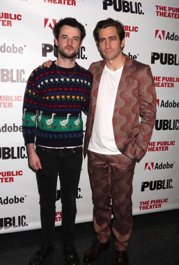 Актеры на бродвейской премьере jake gyllenhaal