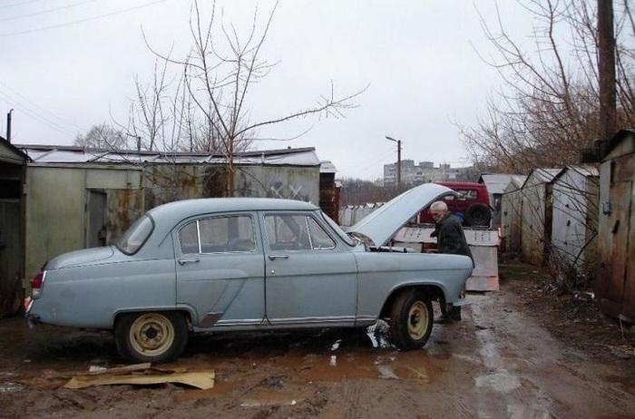 Восстановление ГАЗ-21 автомобиль