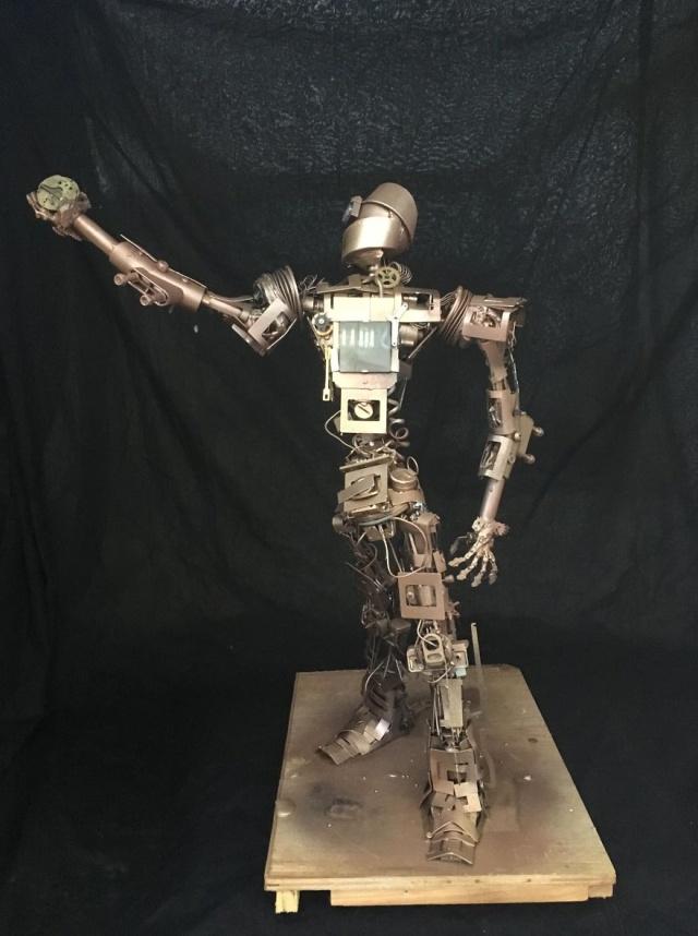 Необычные стимпанк-скульптуры своими руками Всячина
