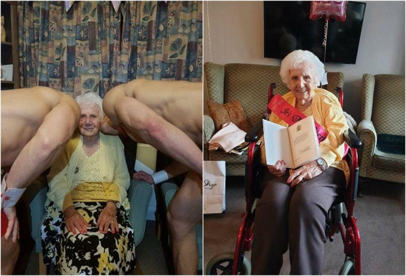 Бабуля не промах! Всячина