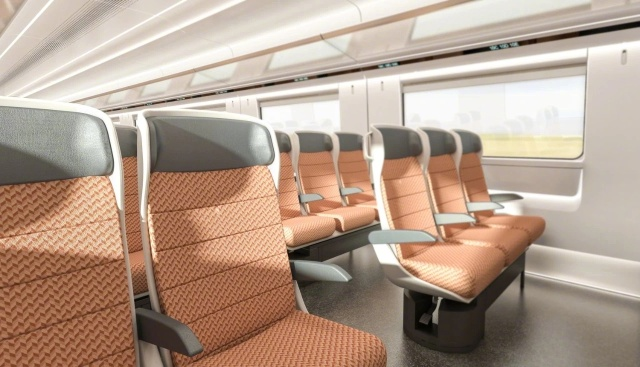 Китайский высокоскоростной поезд для российских железных дорог Всячина