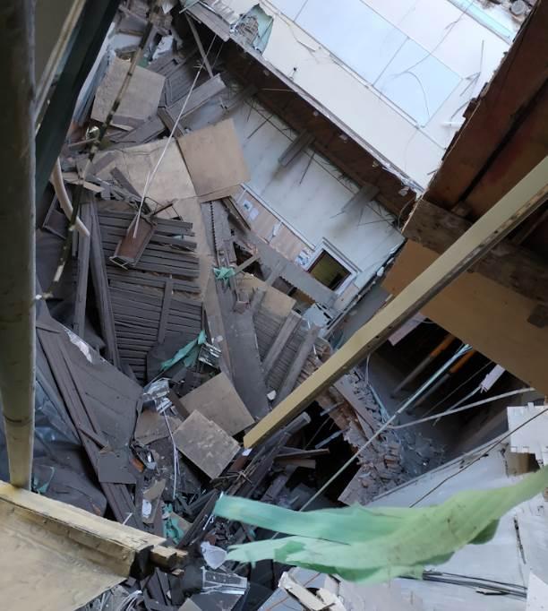Обрушение крыши в петербургском университете ИТМО новости в фотографиях