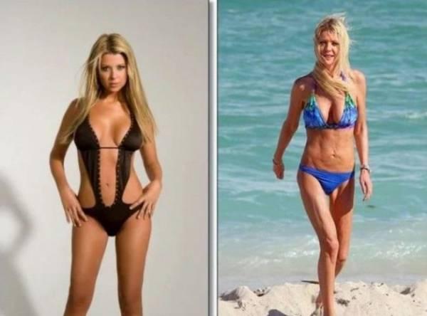 Вот как диеты могут изуродовать шикарное тело женщины интересное