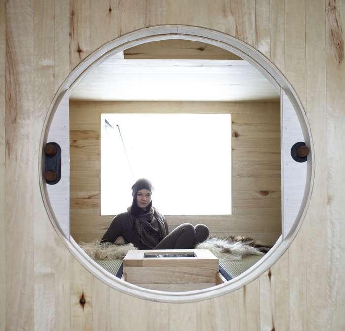 Домик из старого сарая в Норвегии Интересное