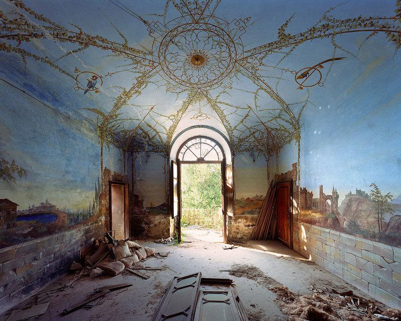Заброшенные итальянские дворцы в невероятных снимках французского фотографа архитектура