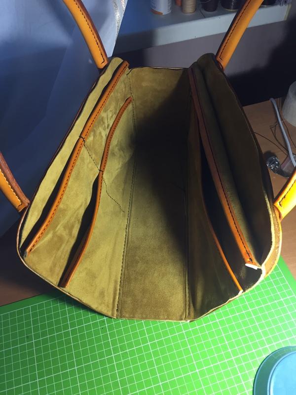 Шьём сумку с тиснением Шеридан 5