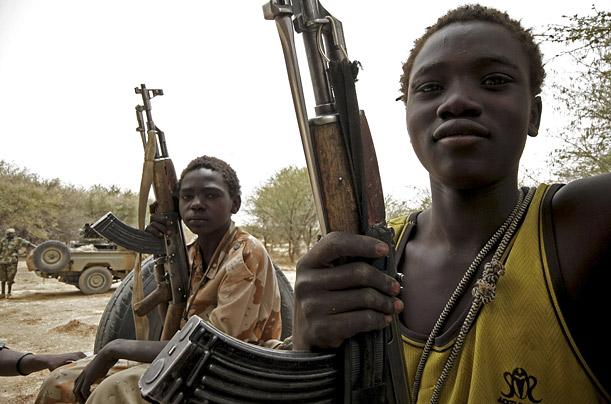 Как выглядят современные дети-солдаты Дети
