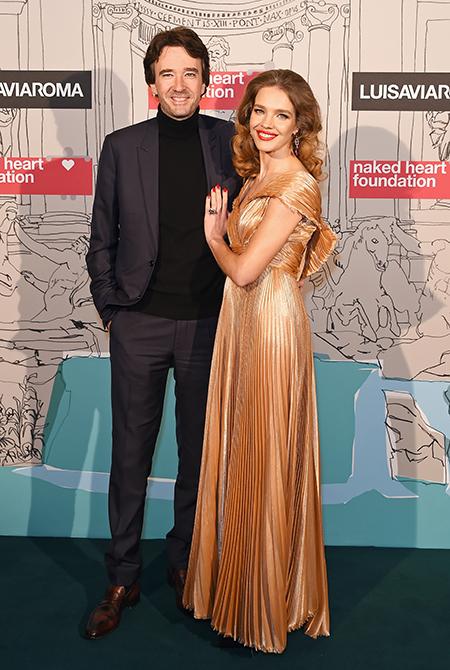 Наталья Водянова с мужем, Бруклин Бекхэм с девушкой и другие на ярмарке Fabulous Fund Fair