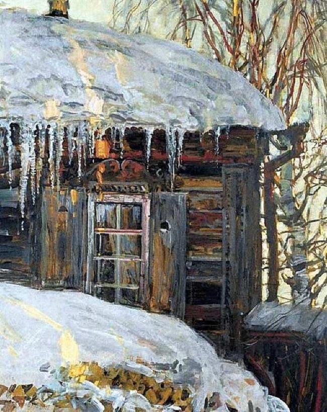 Советский и российский художник Михаил Абакумов