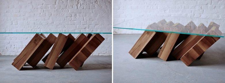 Оригинальные обеденные столы интерьер и дизайн