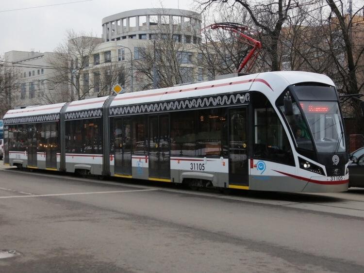 Начались испытания первого в России беспилотного трамвая беспилотники