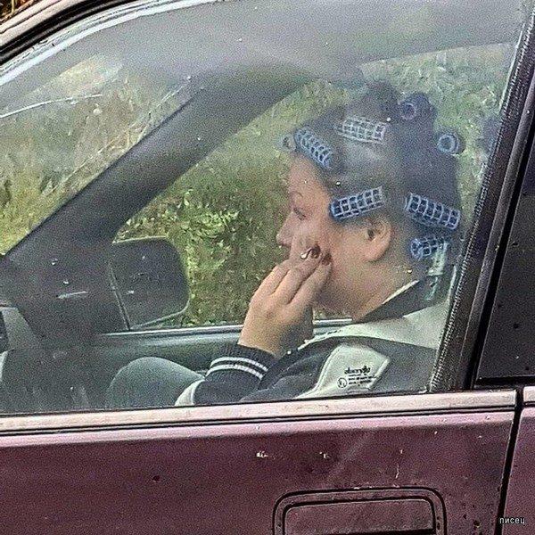 Женщинам за рулём посвящается! Жмите Лайк! смешные картинки