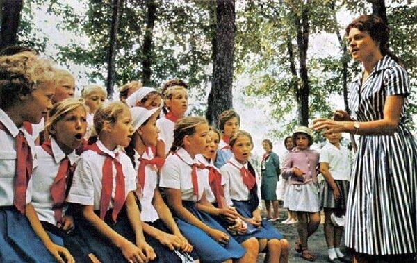 Цветные фото родом из СССР